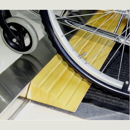 感恩使者 木製斜坡板 - 3cm高 美國白楊木 銀髮族 輪椅使用者 減緩高低差與段差 台灣製 [ZHTW1744-3]