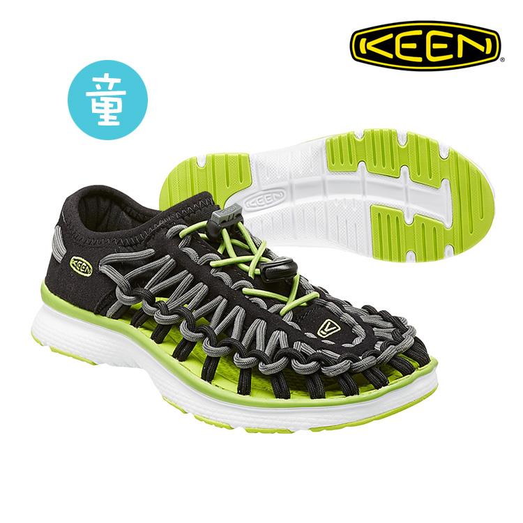 KEEN 織帶涼鞋Uneek O2 1015481《童款》/ 城市綠洲 (編繩結構輕量戶外休閒鞋運動涼鞋)