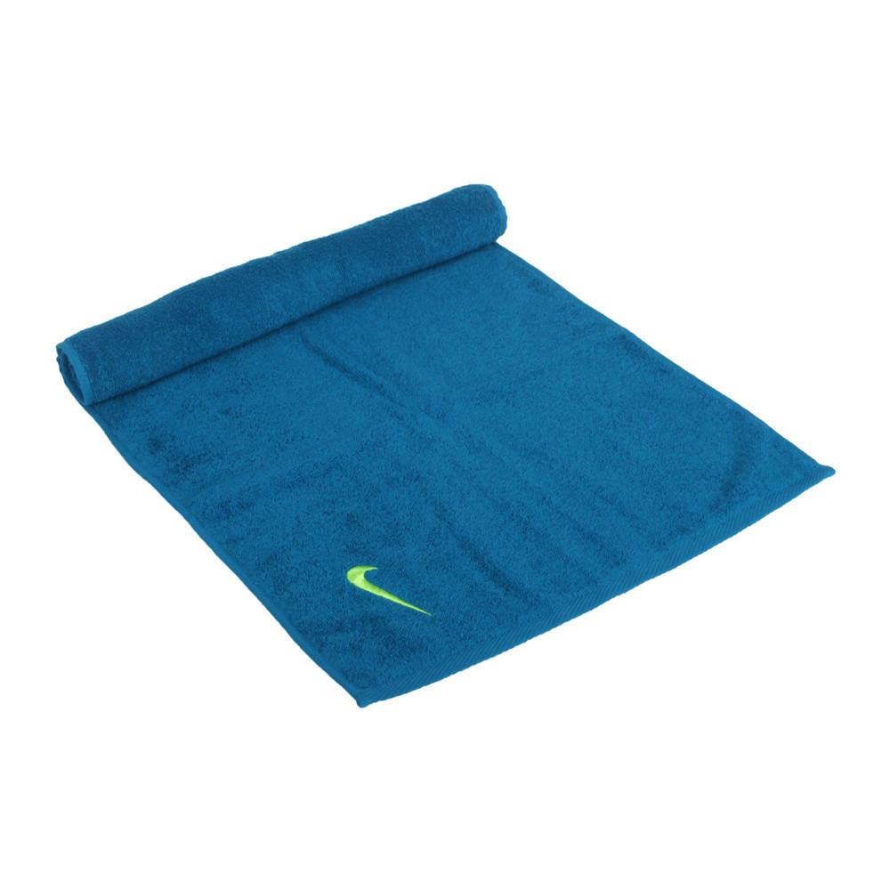 nike 毛巾-80*35cm-純棉 運動 海邊 游泳 戲水 慢跑 藍綠