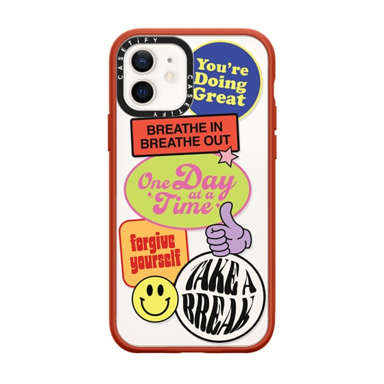 CASETiFY iPhone 12 Impact Case - Doing Great Phone Case by Quotes by Christie
