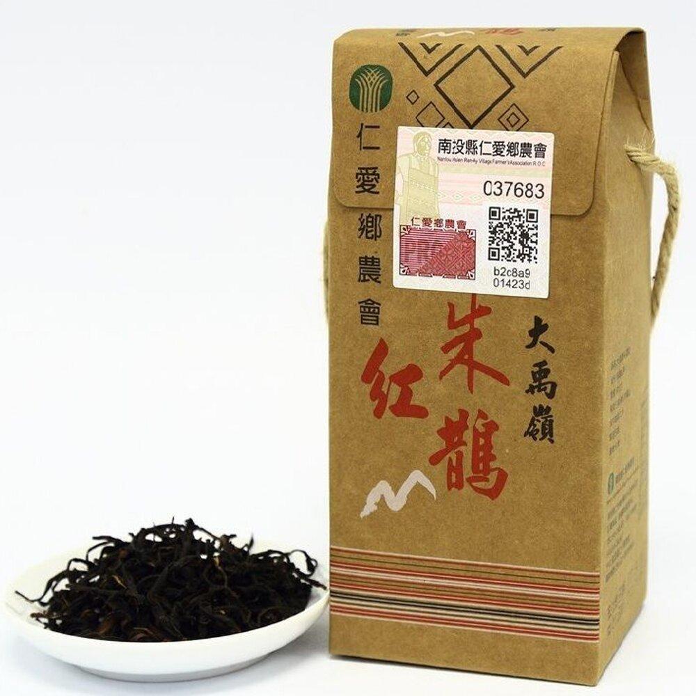 【仁愛農會】大禹嶺朱鵲紅茶-50g-盒  (2盒一組)