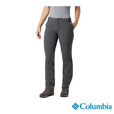 Columbia 哥倫比亞 女款- UPF50快排長褲-深灰 UAR26680DY