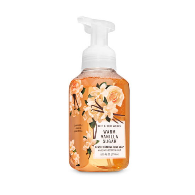 《Bath & Body Works BBW 》泡沫慕斯洗手液【暖暖香草糖】Warm Vanilla Sugar 259ML