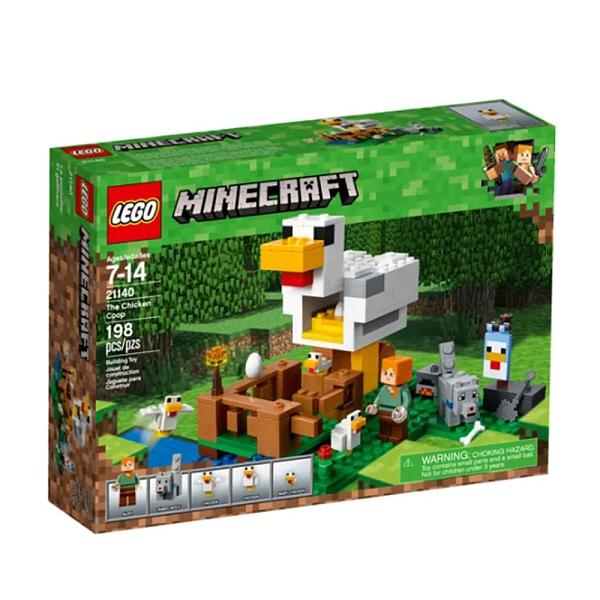 LEGO 樂高 Minecraft 創世神系列 The Chicken Coop 雞舍 21140