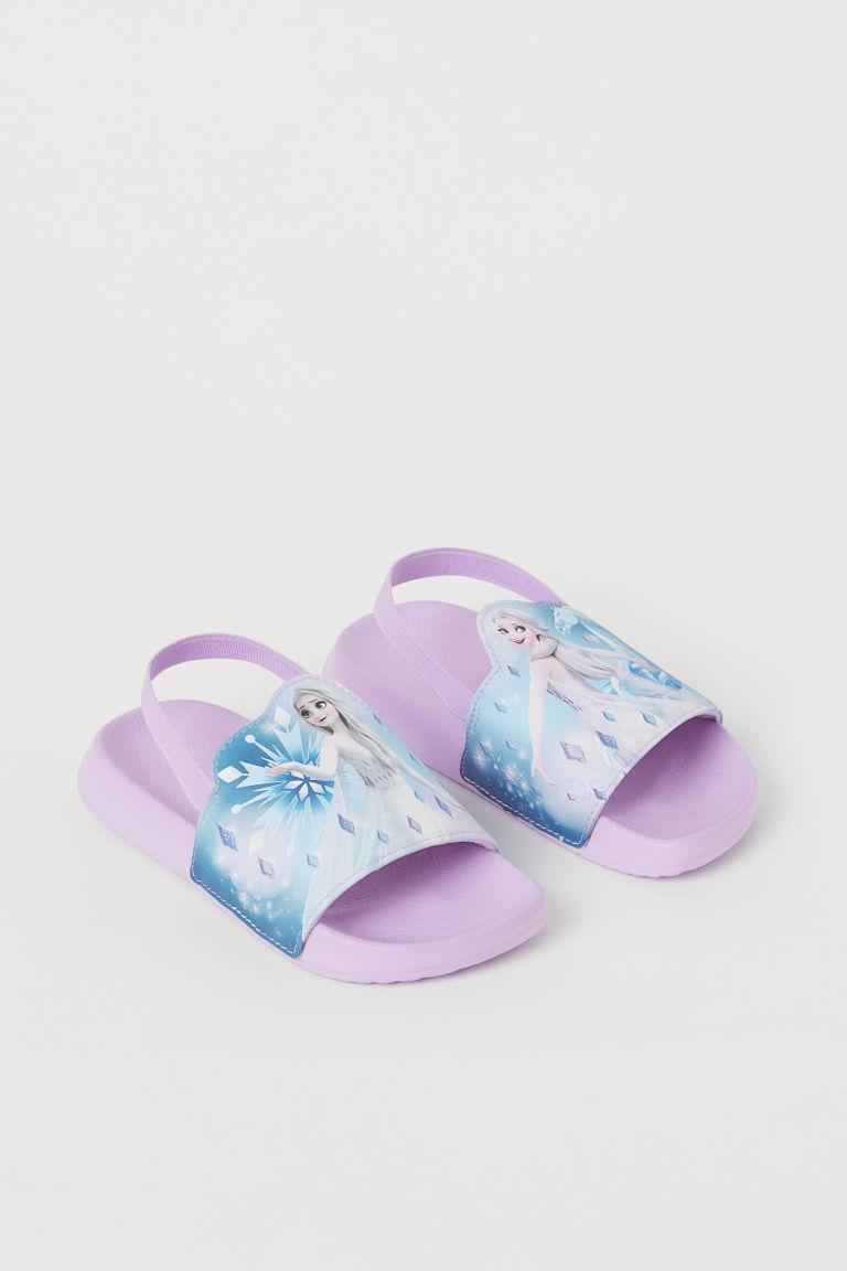 H & M - 圖案戲水鞋 - 紫色