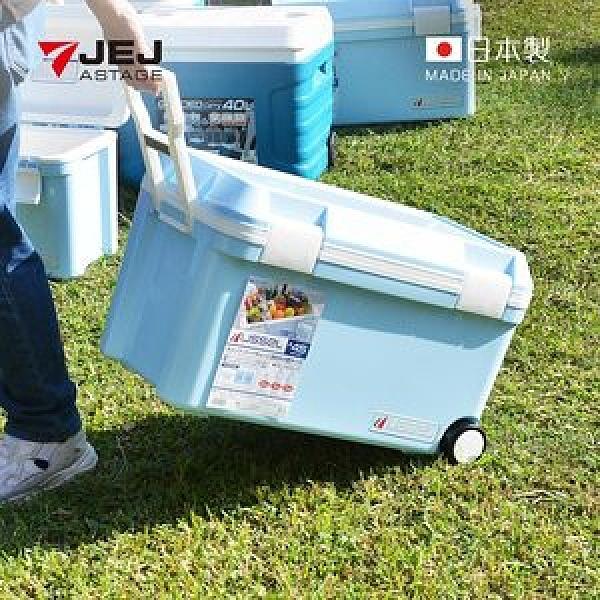 【日本JEJ】日本製手拉式滾輪多功能保冷冰桶-45L單一規格