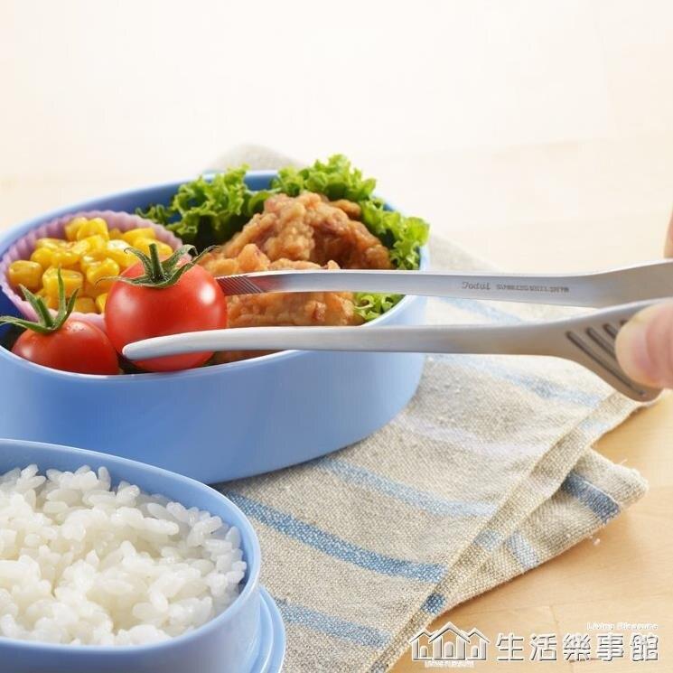 日本Yoshikawa烤肉夾18-0不銹鋼牛排食品夾防污染燒烤夾面包夾子 愛尚生活
