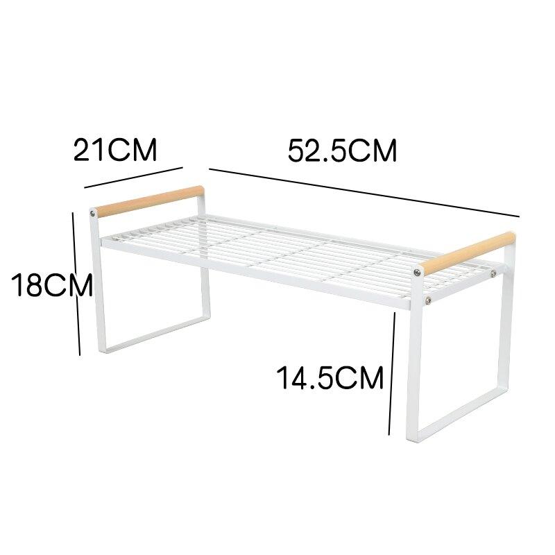 櫃子分層器鞋架收納神器鞋櫃隔板分層架內置多層可伸縮鞋子架櫃子分隔省空間 bw4462