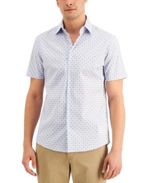 Michael Kors Men's Foulard Print Slim-Fit Shirt