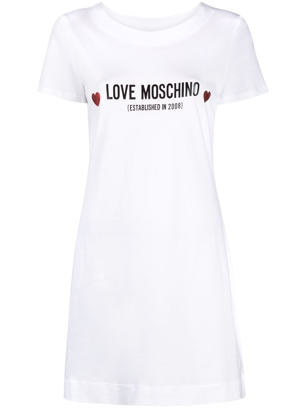 Love Moschino Dresses White