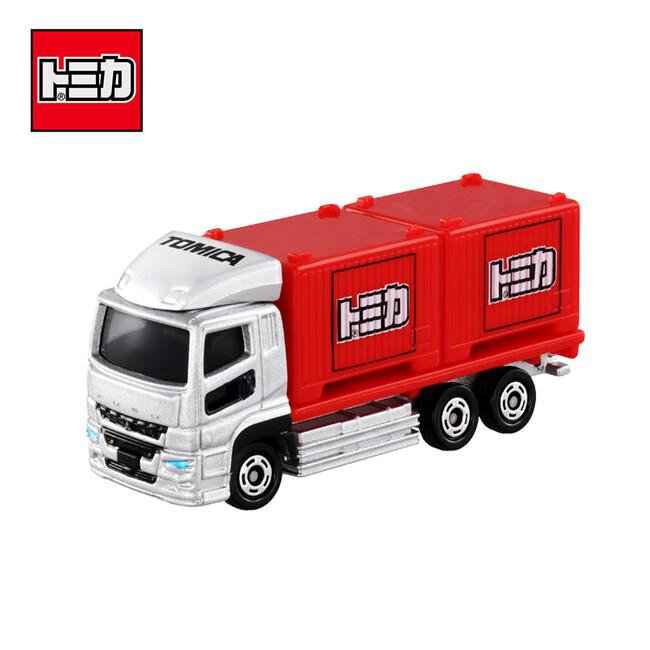 tomica no.85 三菱 fuso super great 貨櫃車 卡車 玩具車 971986