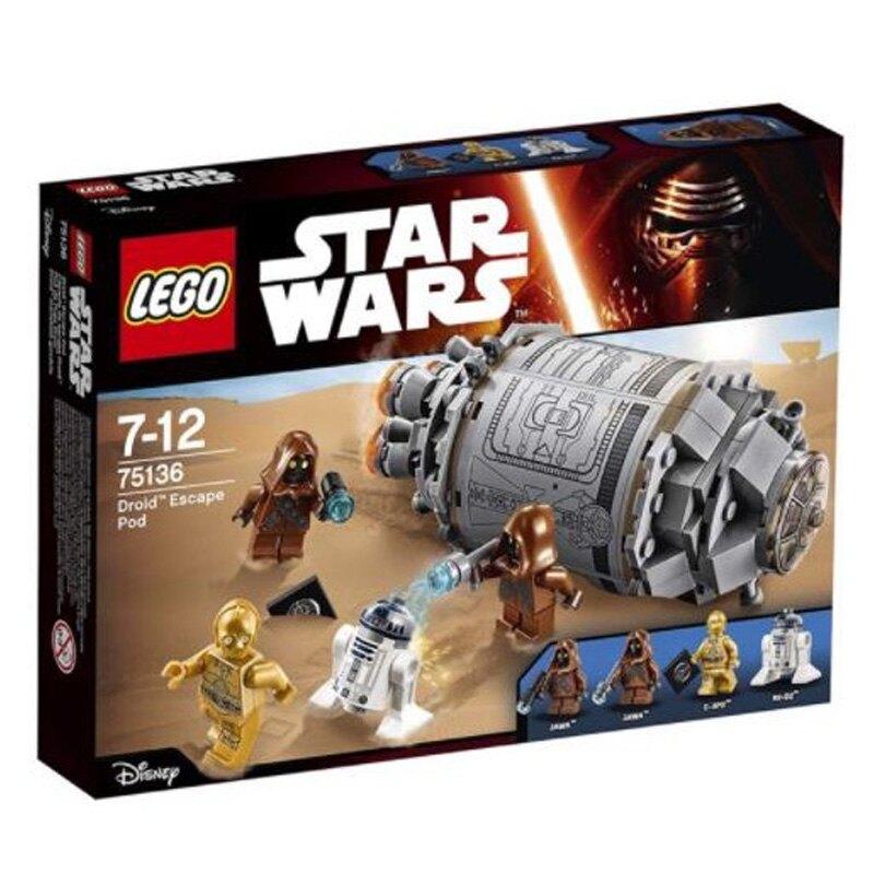 LEGO 樂高 STAR WAR 星際大戰系列 Droid™ Escape Pod 逃生艇 逃生艙 75136