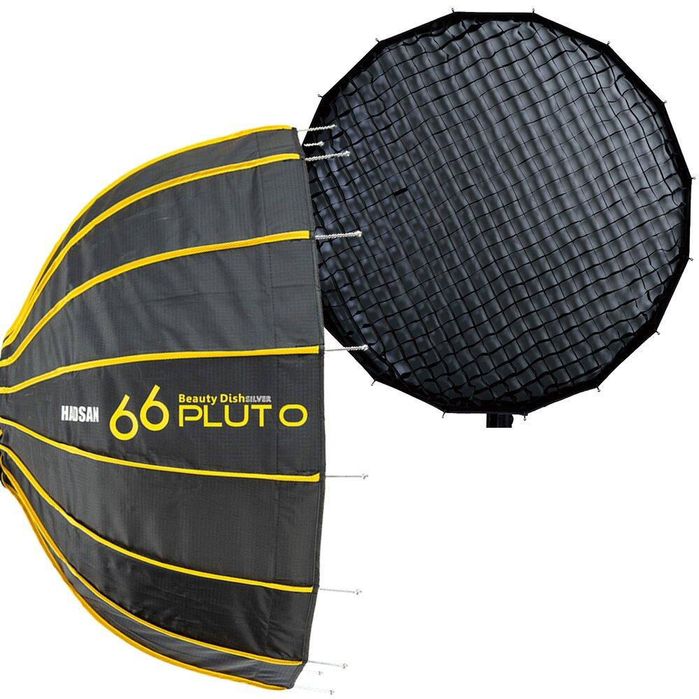 HADSAN Pluto 66 快收雷達罩 + 蜂巢 + 卡口.