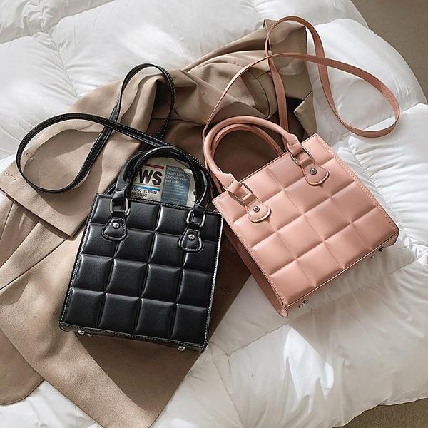 百搭潮流女包包簡約手提包 女生洋氣商務大容量斜挎包 個性小包包時尚手提包 韓版女生單肩包