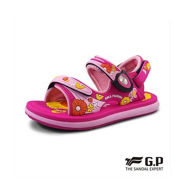【南紡購物中心】【G.P】夢幻公主風兩用涼鞋 童鞋-桃(另有紫)