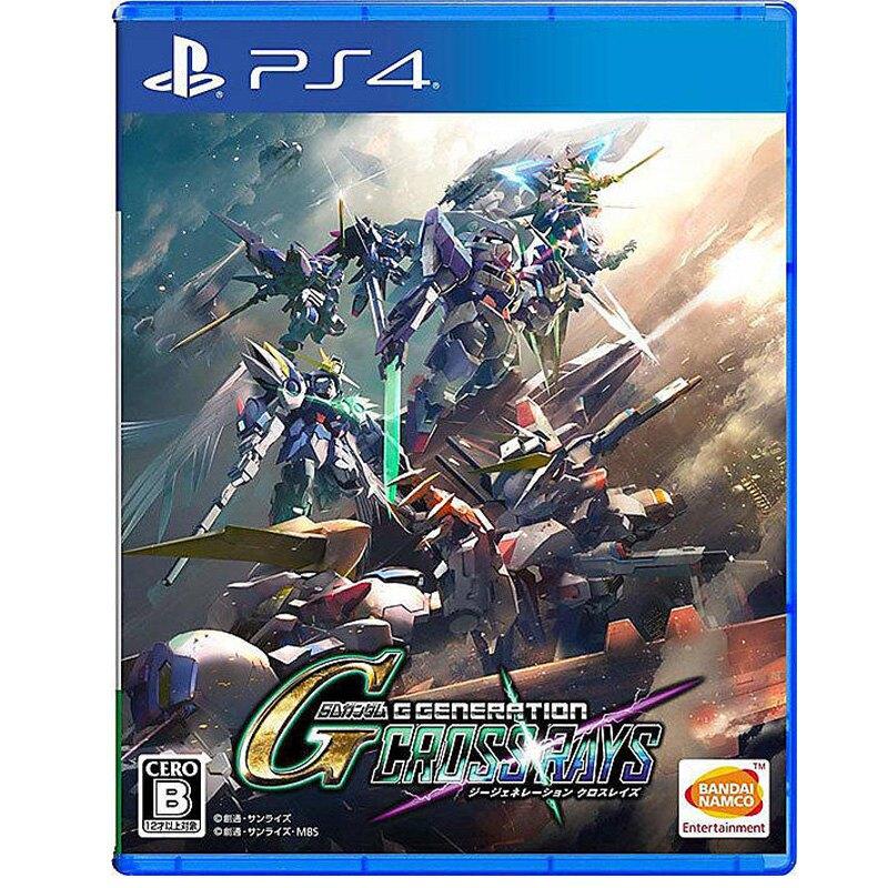 PS4 遊戲片 SD GUNDAM G Generation Cross Rays SD 鋼彈 G 世代 火線縱橫