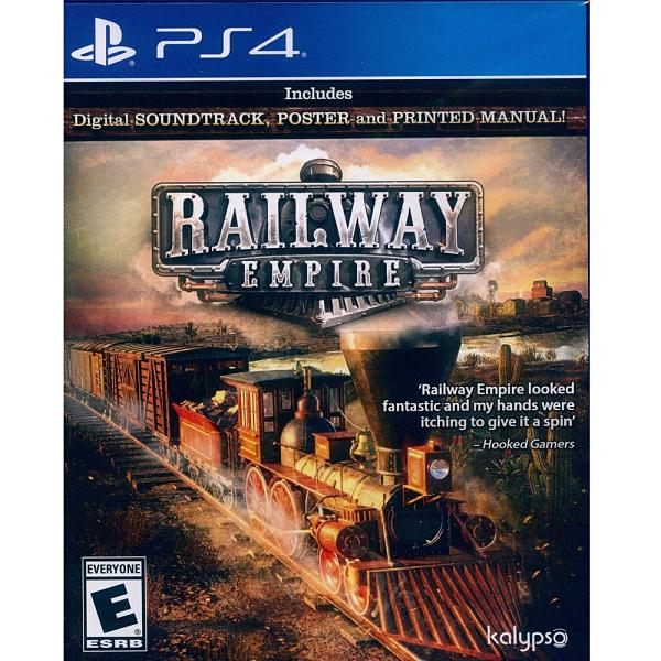 PS4 遊戲片 Railway Empire 鐵路帝國
