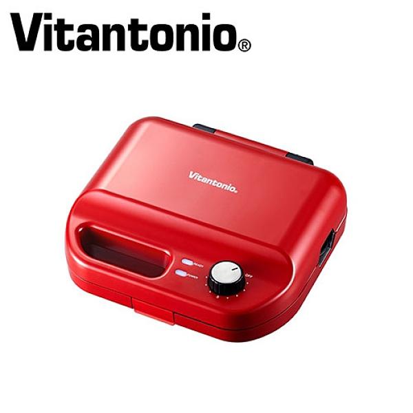 Vitantonio 計時鬆餅機VWH-50B-R-紅【愛買】