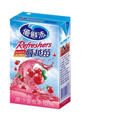 優鮮沛 蔓越莓綜合果汁(250mlx24入)
