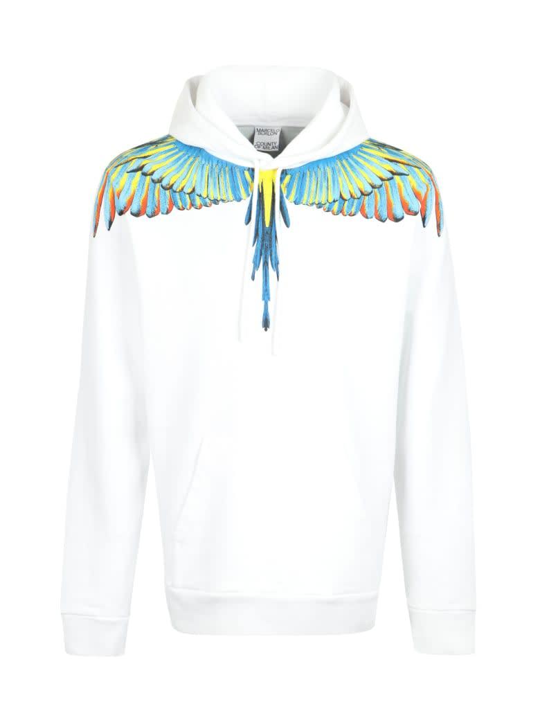 Marcelo Burlon Birds Wings Regular Hoodie