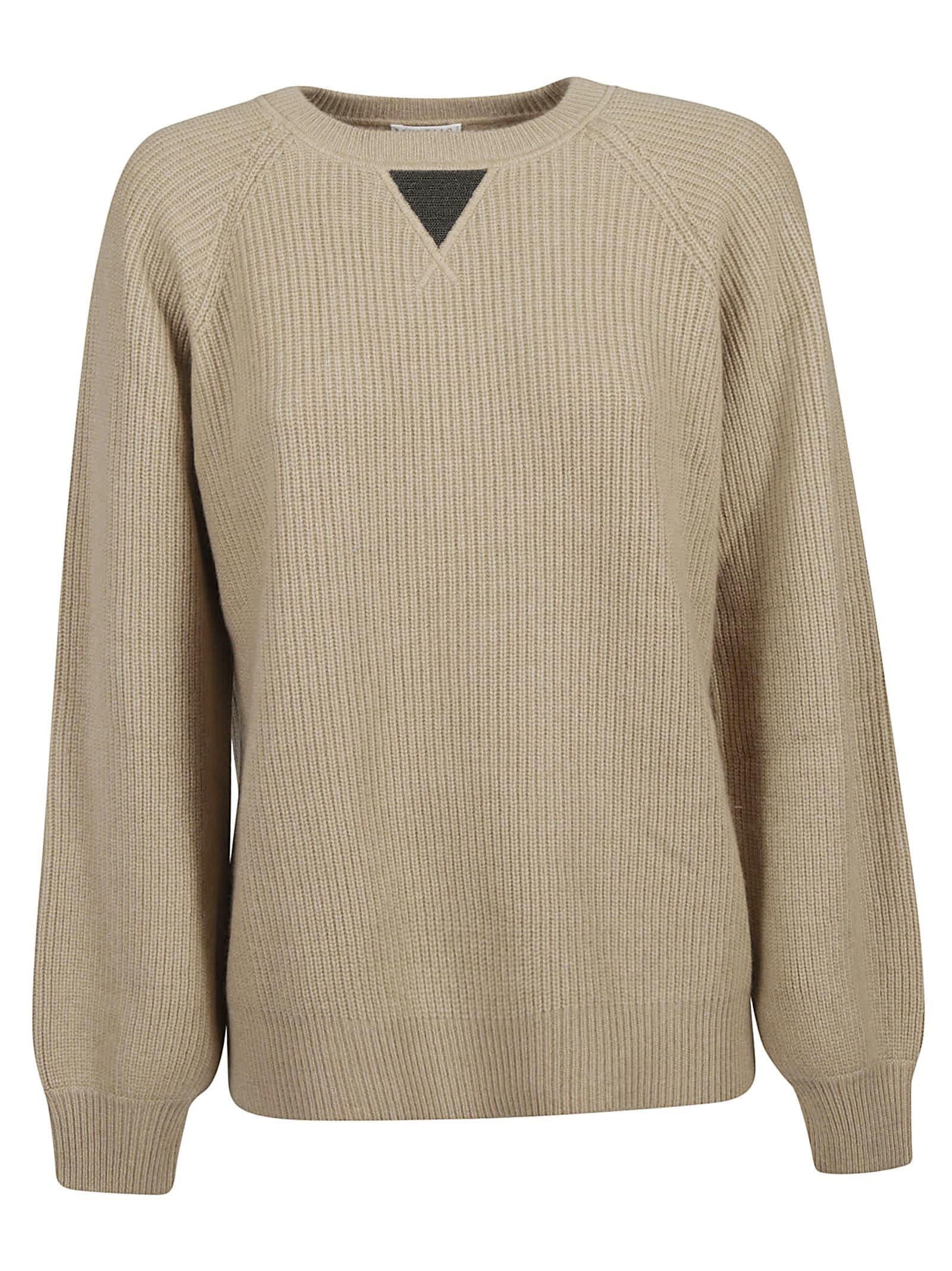 Brunello Cucinelli Embellished Knit Sweater