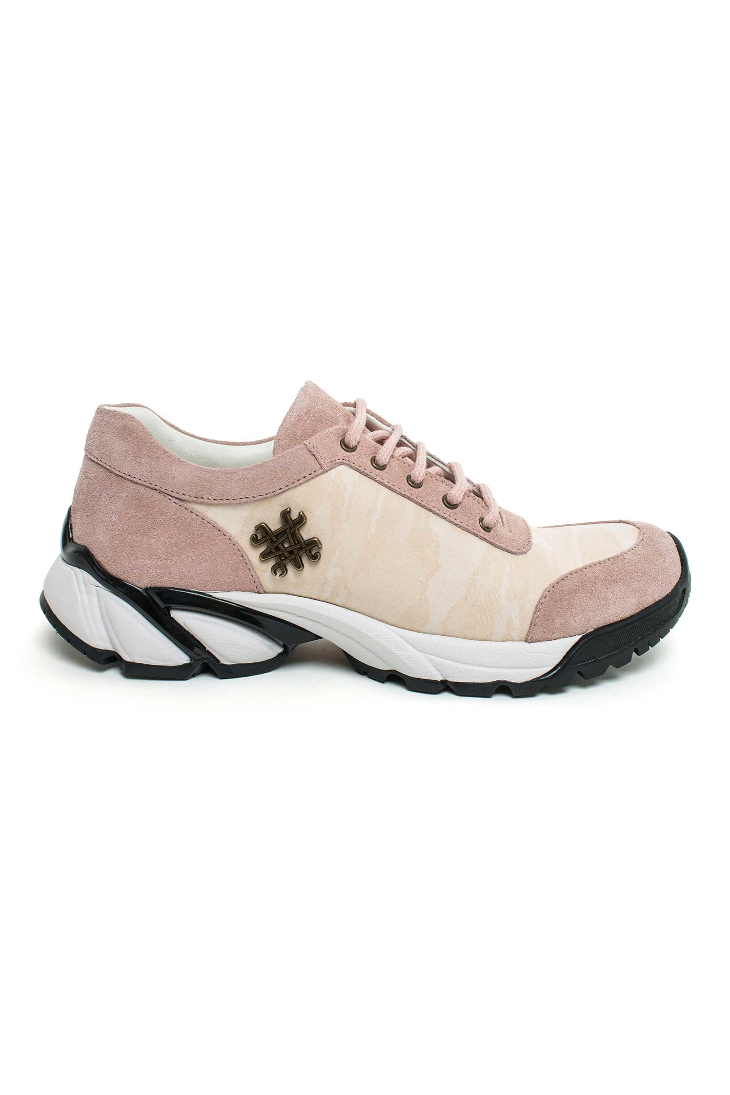 Mr & Mrs Italy Camou Canvas Sneakers