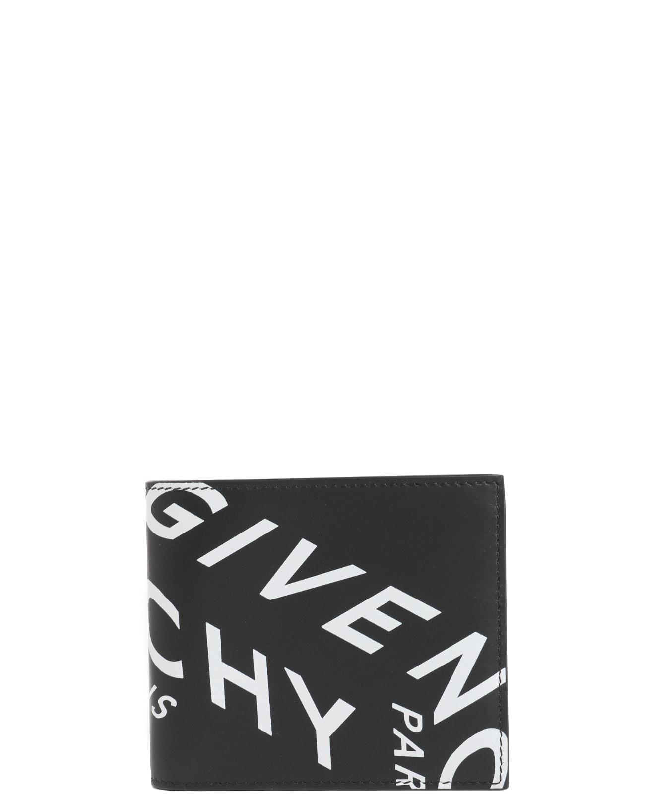 Givenchy Black Billfold Wallet