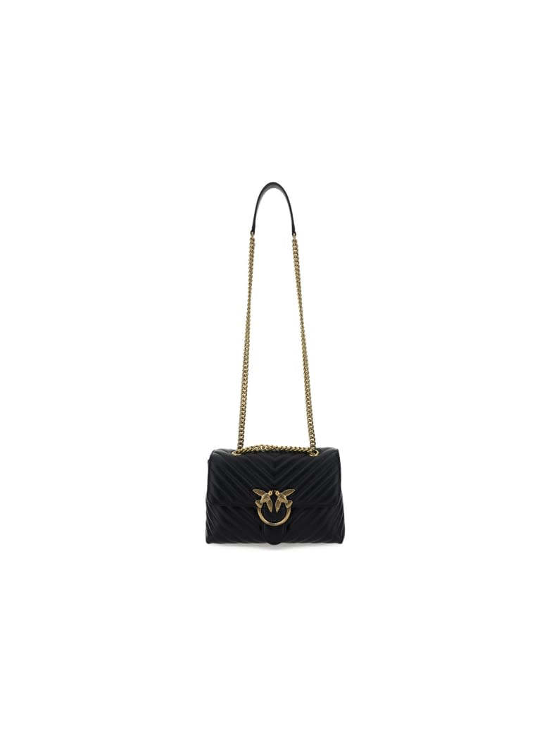 Pinko Love Lady Puff V Quilt Cl