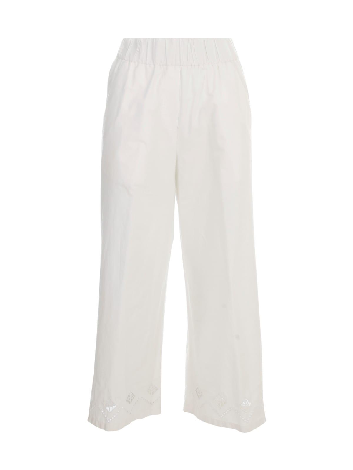 Seventy Popeline Wide Pants