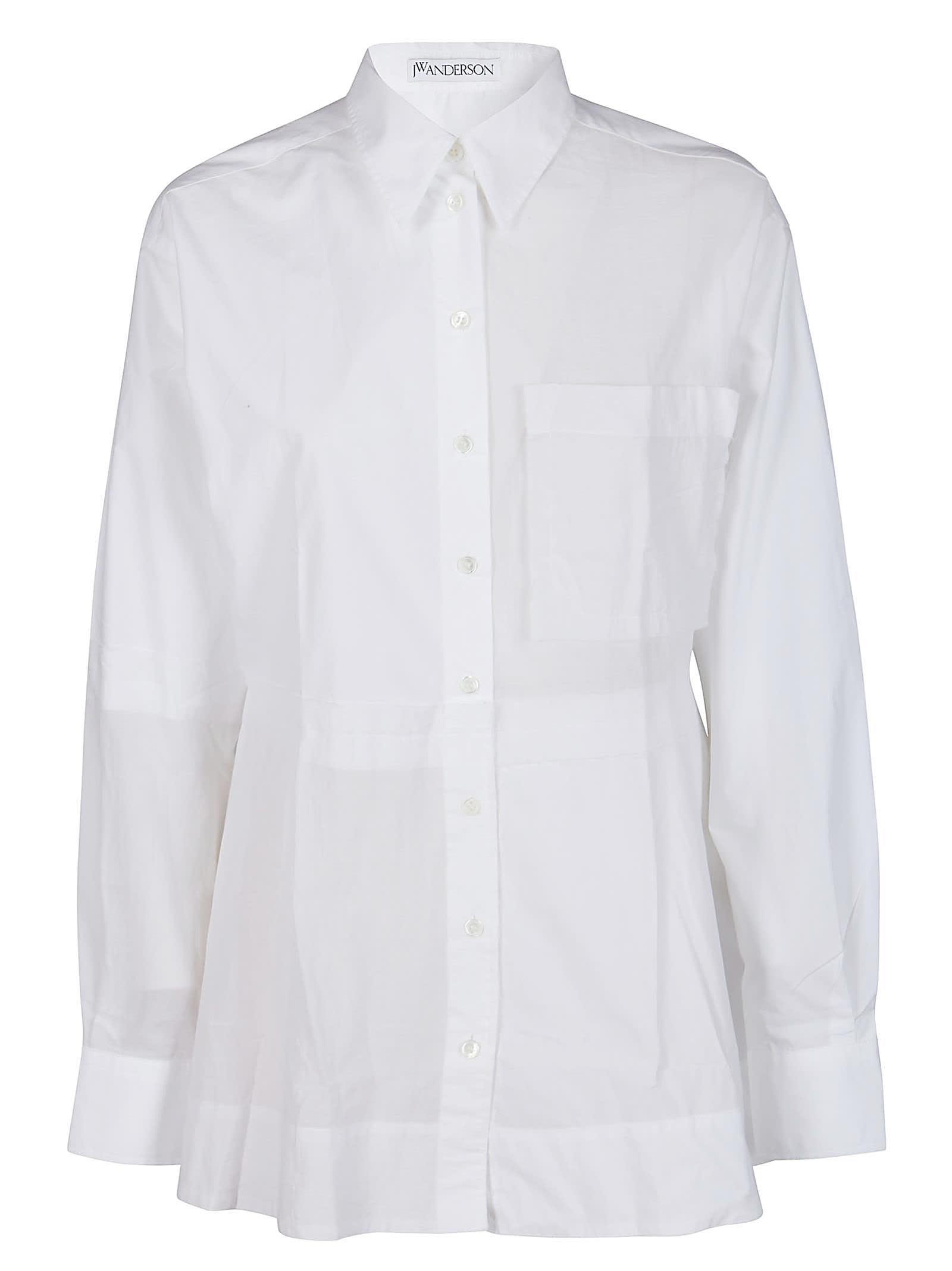 J.W. Anderson White Cotton Shirt