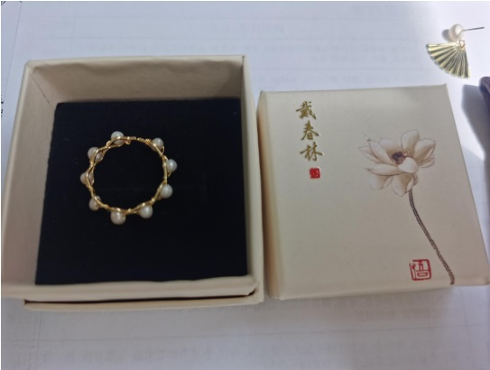 天然太湖珍珠戒指2