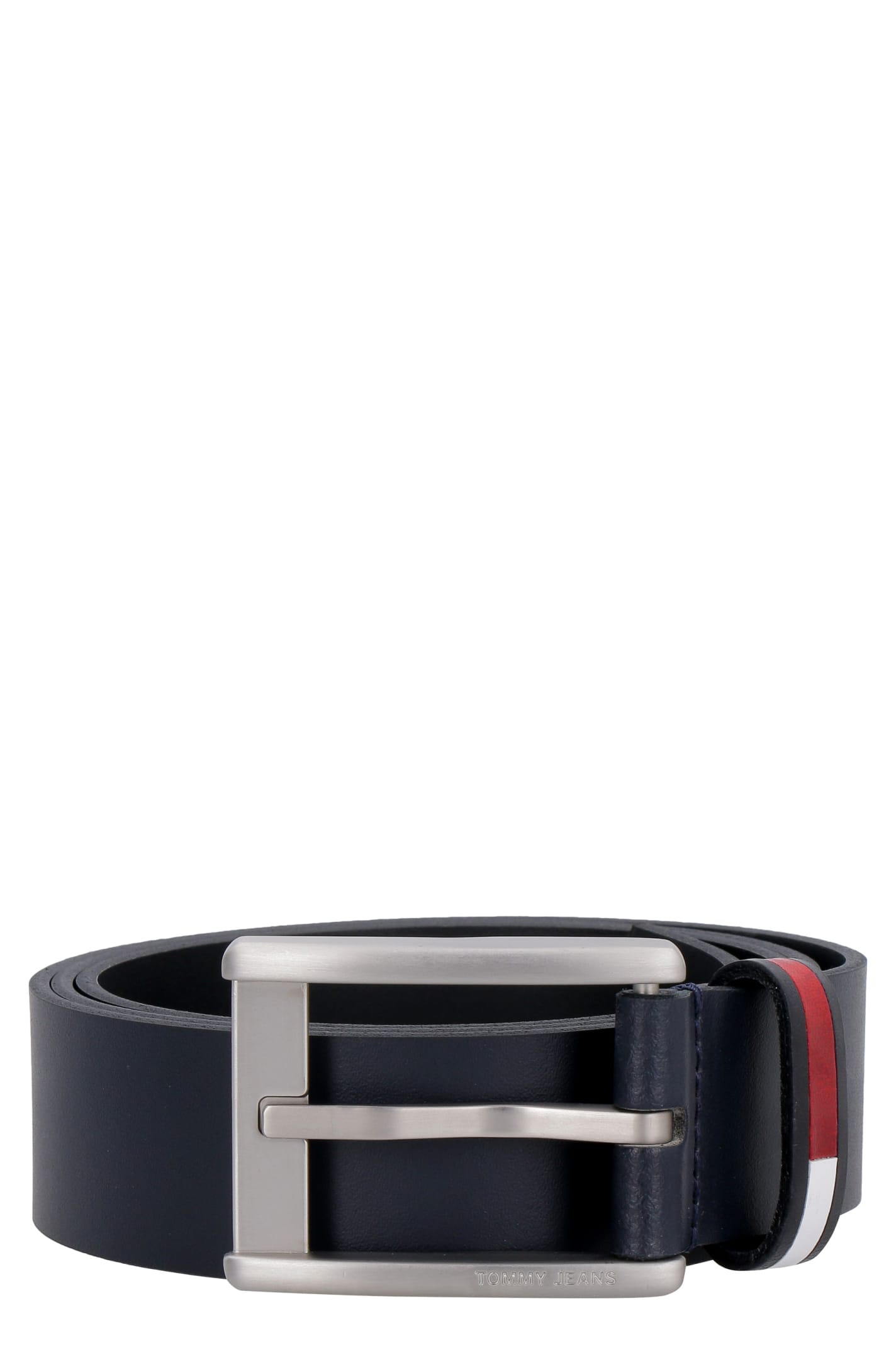 Tommy Jeans Leather Belt With Buckle