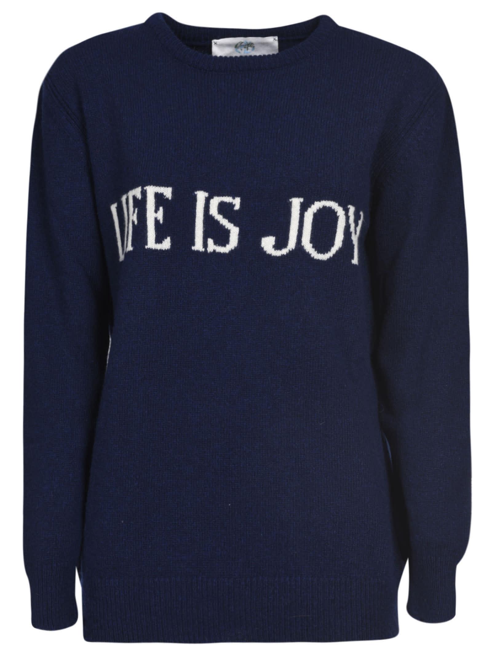 Alberta Ferretti Life Is Joy Sweater