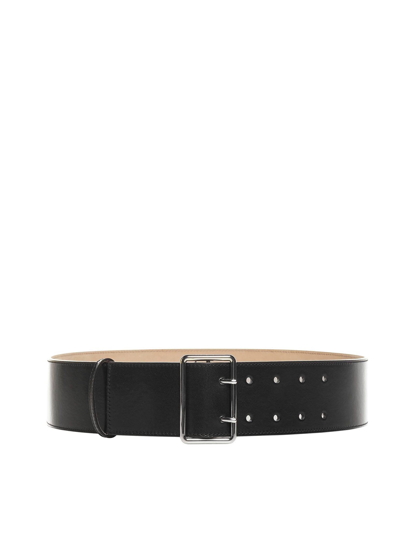 Alexander McQueen Military Leather Belt