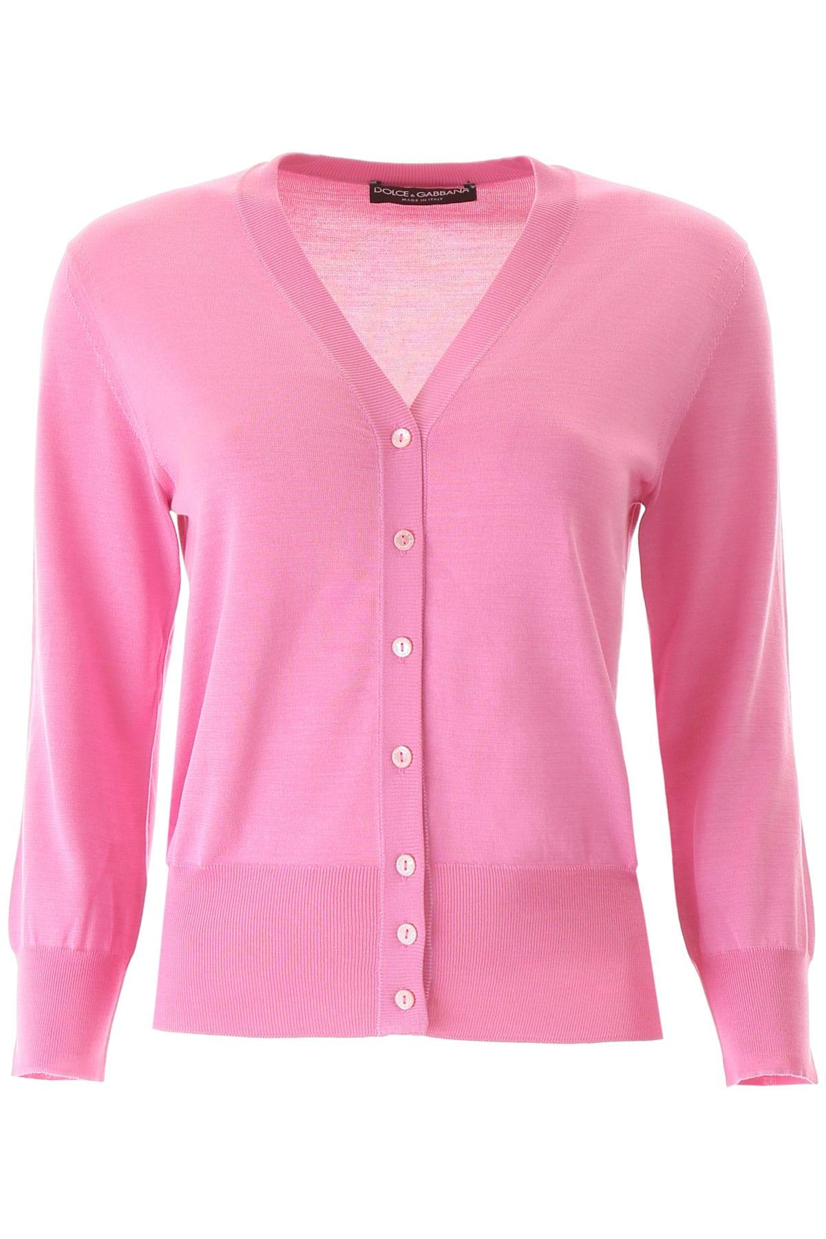 Dolce & Gabbana Silk Buttoned Cardigan