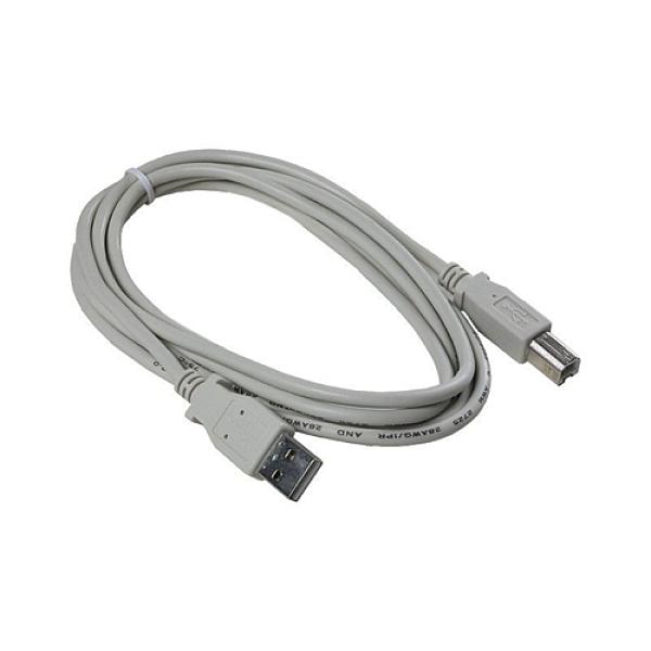 [2美國直購] denkovi USB印表機電纜 USB Printer cable (CAB-USBAB1.8G) gold plated, 1.8m