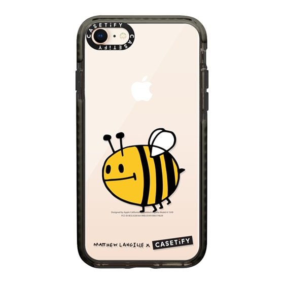 CASETiFY iPhone 8 Impact Case - Bee by Matthew Langille