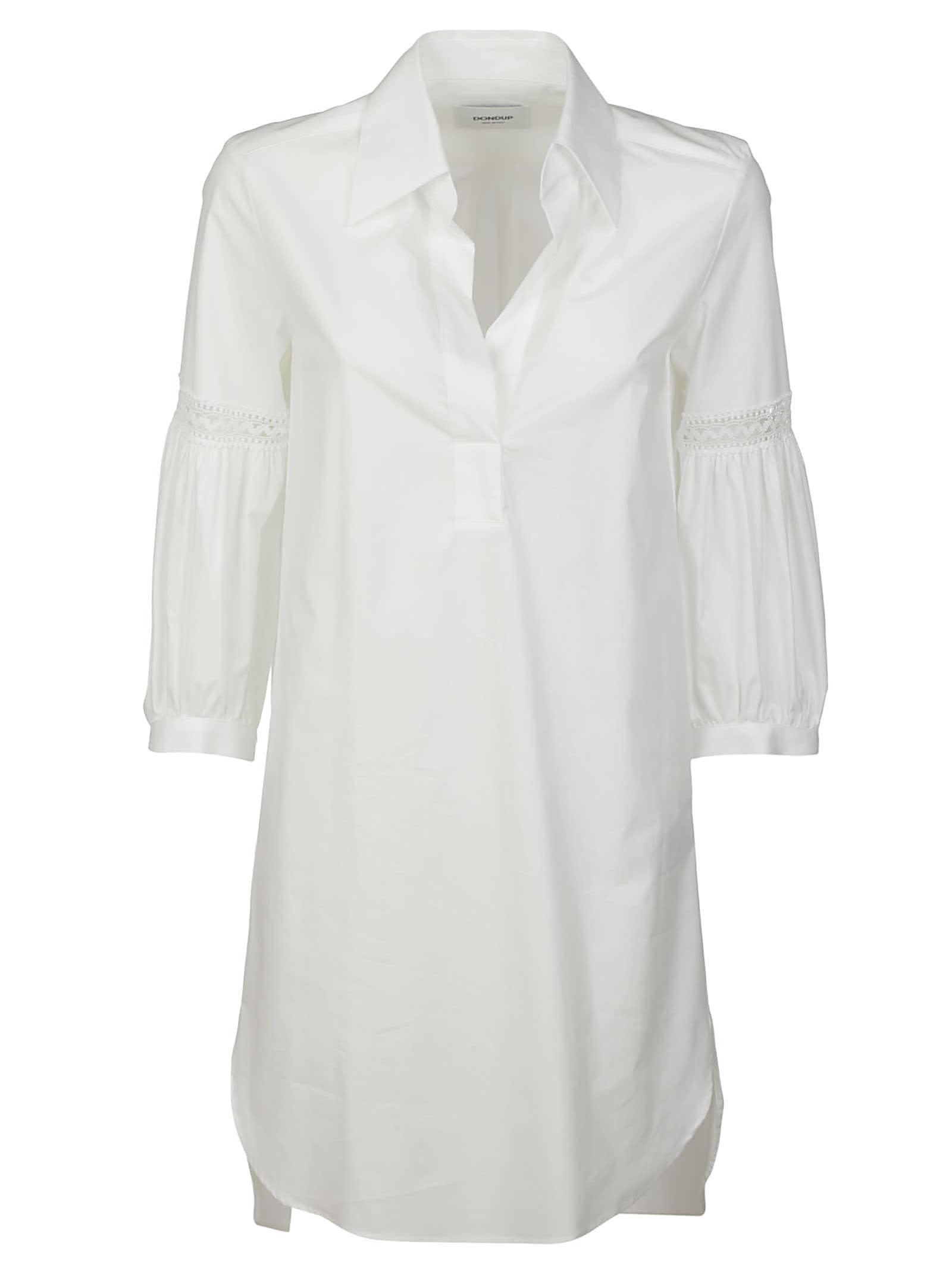 Dondup Plain V-neck Dress