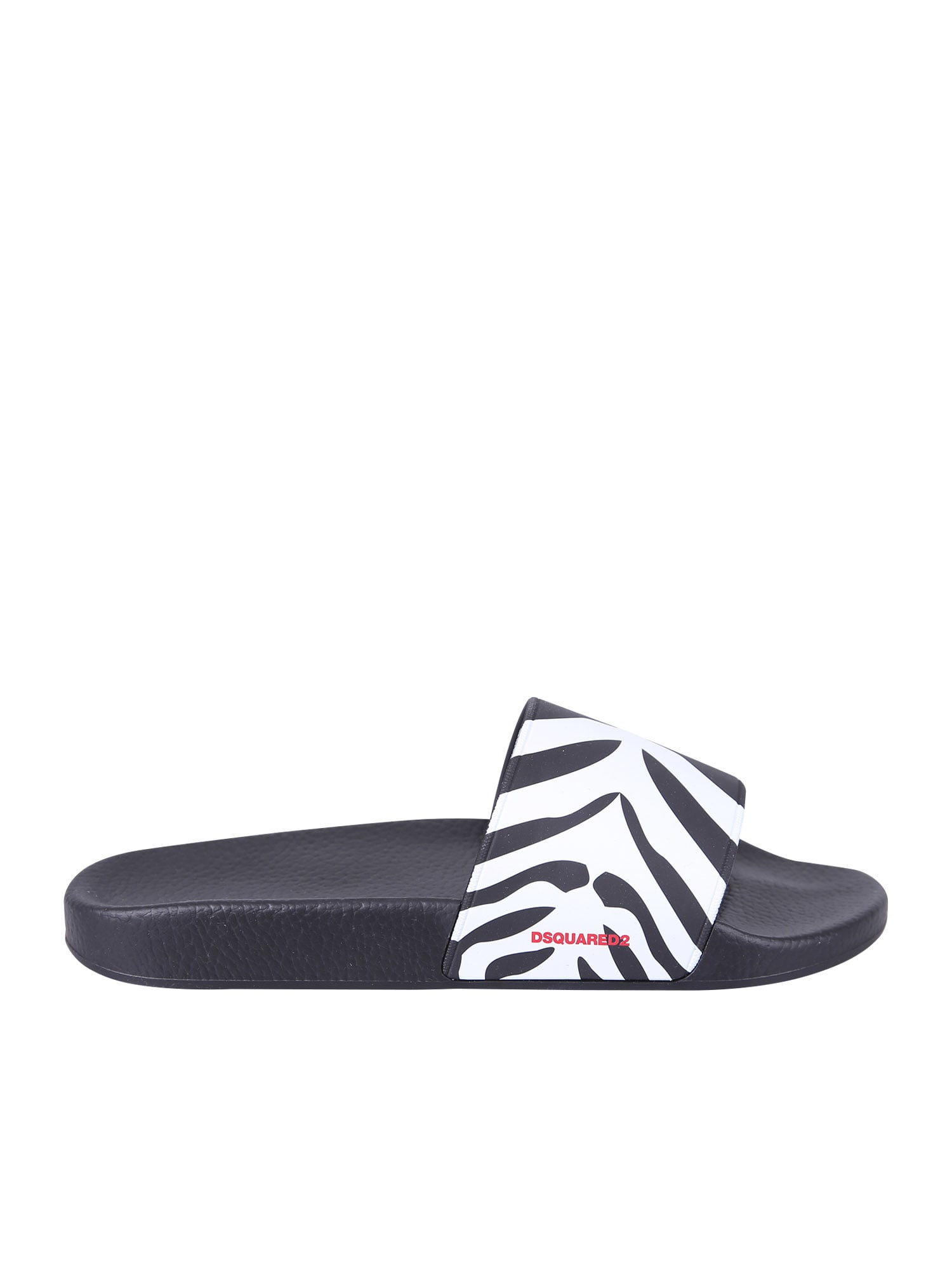 Dsquared2 Animalier Print Sandals