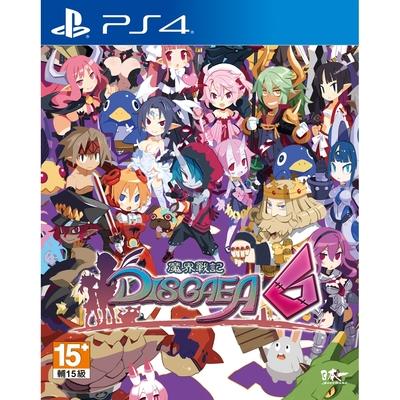 PS4 魔界戰記DISGAEA6(中文版)