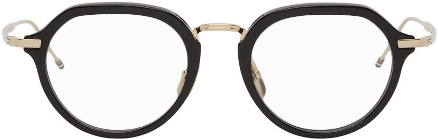 Thom Browne 黑色 TB421 眼镜