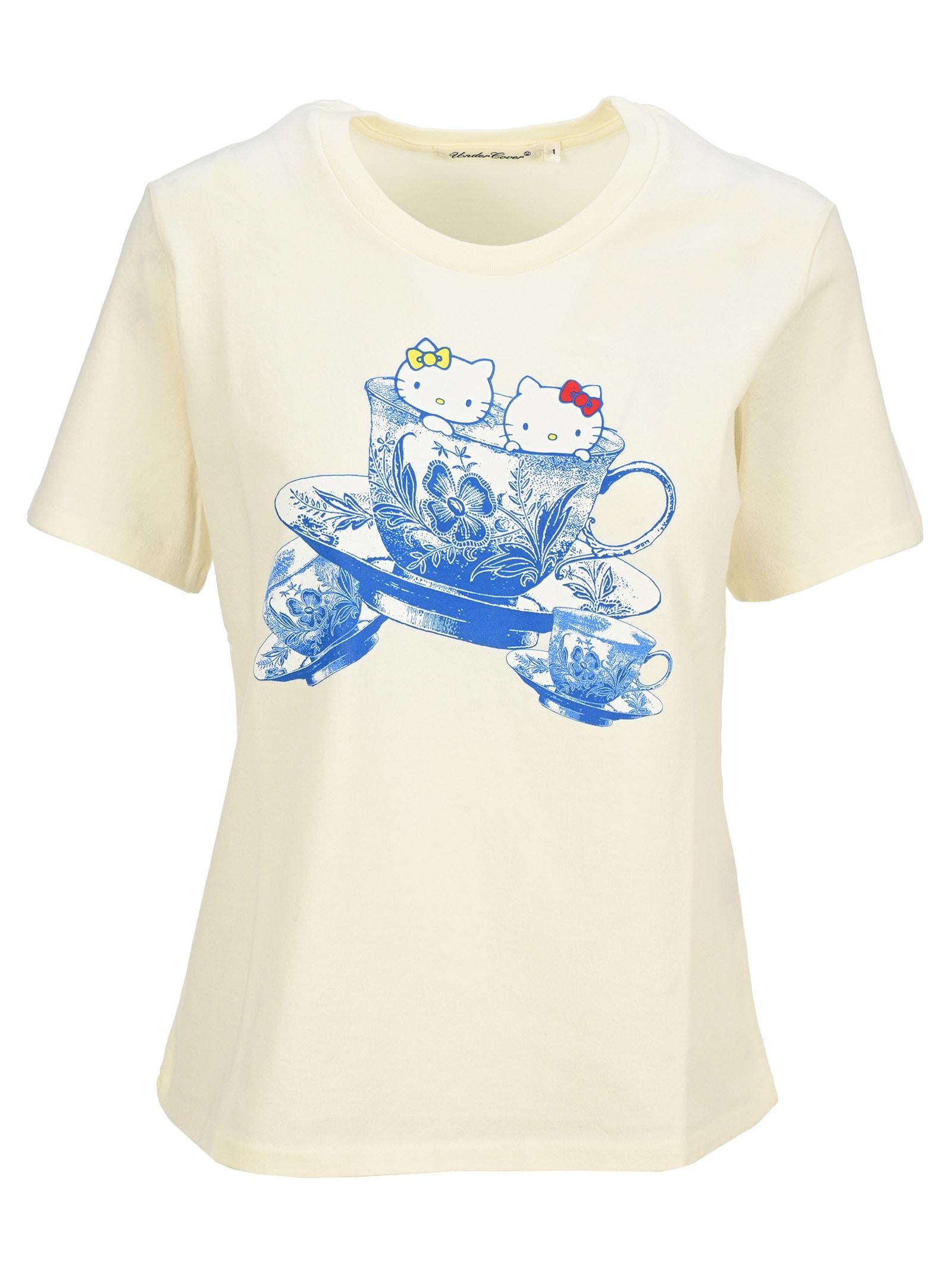 Undercover Jun Takahashi Undercover Hello Kitty Mug-print T-shirt
