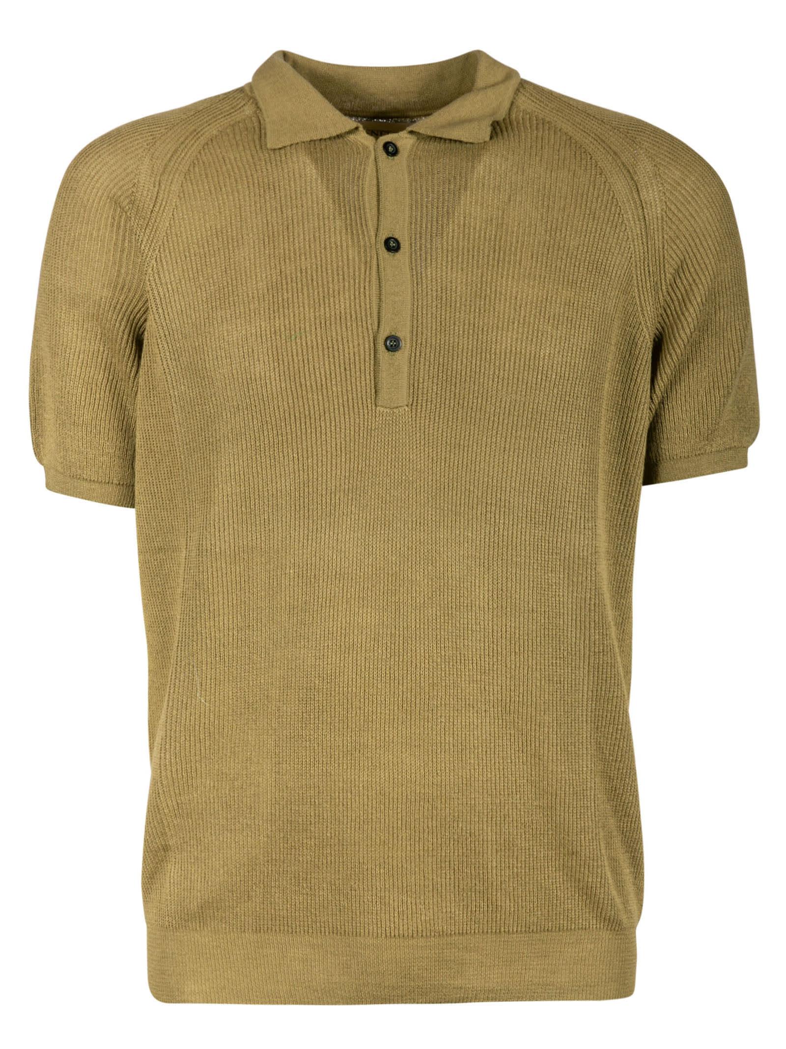 Laneus Ribbed Polo Shirt