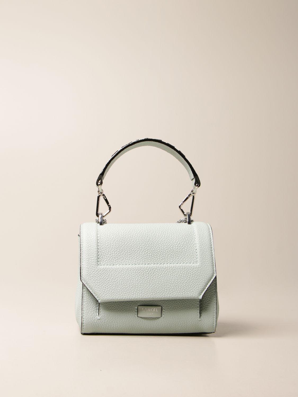Lancel Mini Bag Ninon Lancel Bag In Hammered Leather