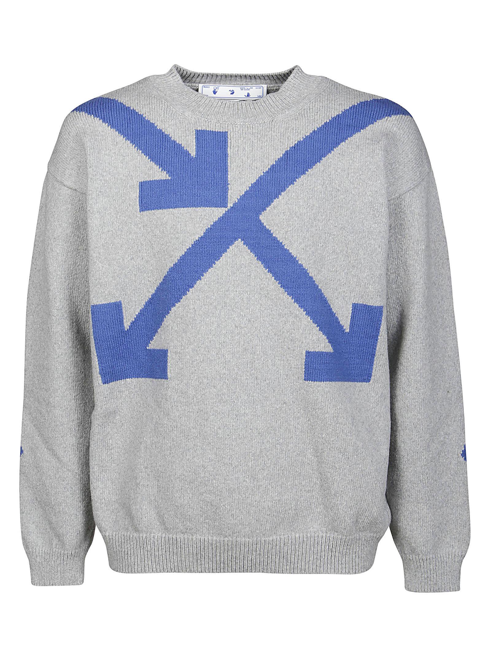 Off-White Knitwear Twisted Arrows