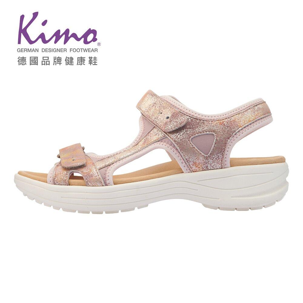 Kimo 金屬質感山羊皮涼鞋 女鞋 (粉 KBASF150067)