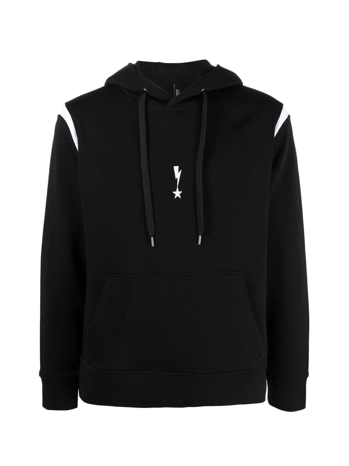 Neil Barrett Travel Hoodie Sweatshirt