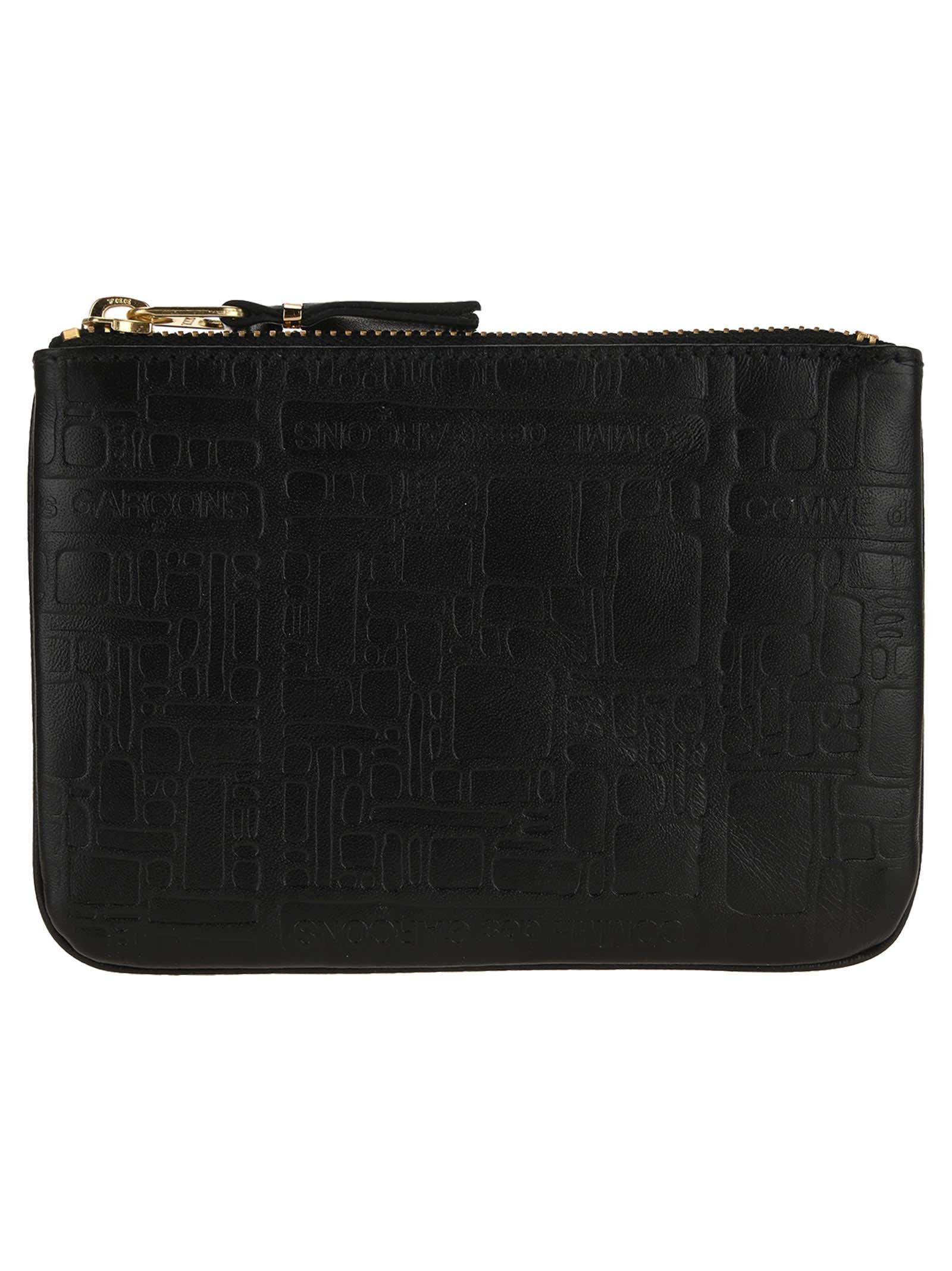 Comme des Garçons Wallet Comme Des Garcons Wallet Embossed X-small Zip Pouch