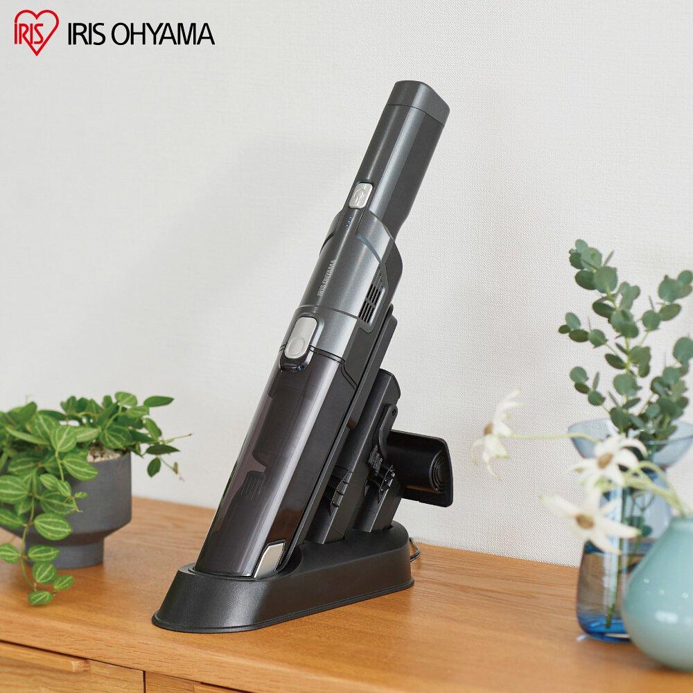 IRIS 攜帶式充電吸塵器 IC-H50 完美主義【T0157】
