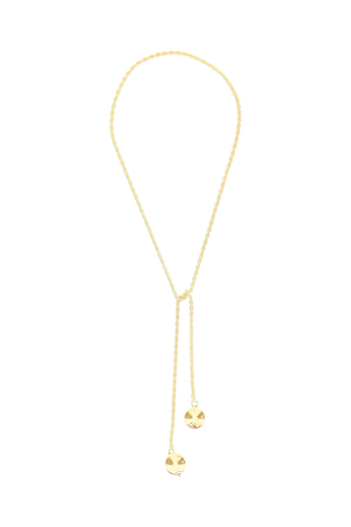 Timeless Pearly Chain Necklace With Balls